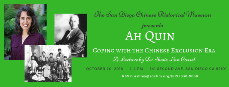 Lecture on Ah Quin
