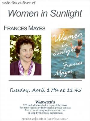 Booked for Lunch: Frances Mayes