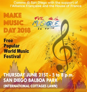 House of France: Make Music Day