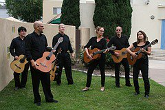 Music: Villa Musica Classical Guitar Ensemble