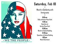 March in Solidarity with Immigrants