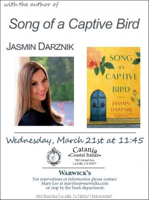 Booked for Lunch: Jasmin Darznik