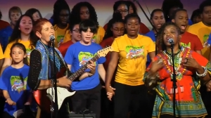 Peace Train Concert Honoring Nelson Mandela