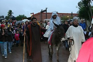 Las Posadas in Old Town