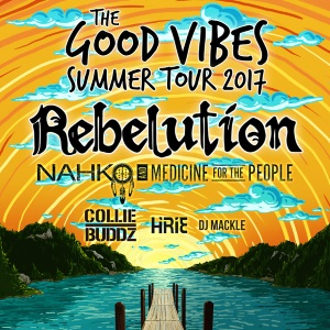 Music: Rebelution and Collie Buddz