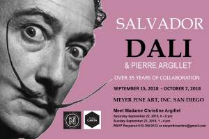 Art: Salvador Dali Exhibit