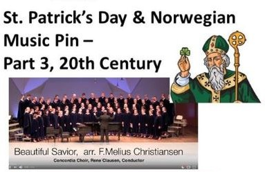 St. Patrick's Day Dinner: Sons of Norway