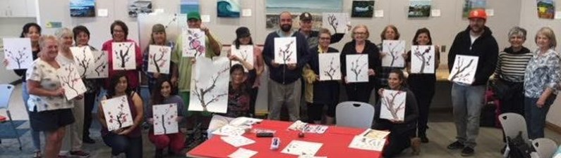 Asian Brush Painting/Sumi-e Class