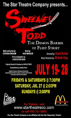 Stage: Sweeney Todd