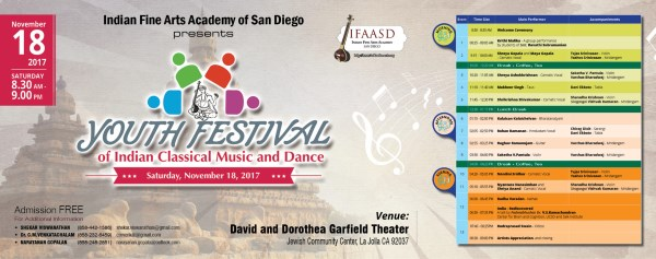 Youth Festival of Indian Classical Music and Dance