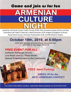 Armenian Culture Night