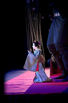Stage: Edo Marionettes from Japan