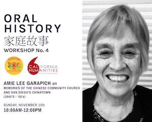 Chinese Historical Museum Oral History Workshop
