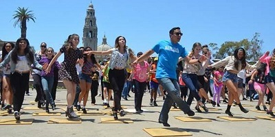 National Tap Dance Day Flash Mob