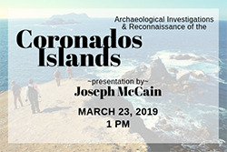 Talk: Archaeology of the Coronados Islands