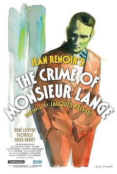 Film: The Crime Of Monsieur Lange
