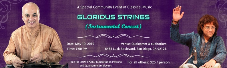 Glorious Strings Indian Classical Music Concert