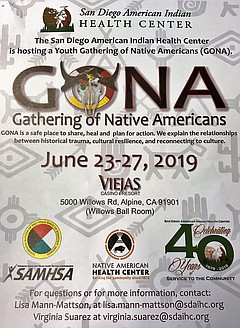 Youth Gathering of Native Americans