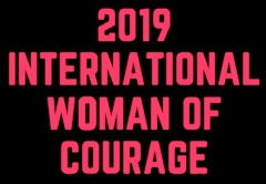 Global Social Hour for International Woman of Courage