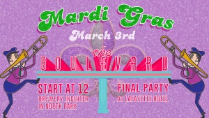 North Park Mardi Gras Crawl