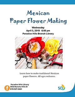 Mexican Paper Flower Making Workshop