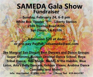 Music & Dance Sameda Fundraiser