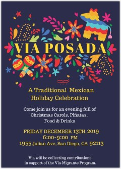 Via Posada Holiday Celebration Fundraiser