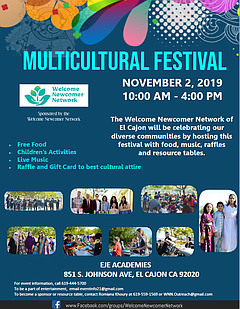 East County Multicultural Festival