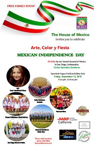 House of Mexico Independence Day Celebration
