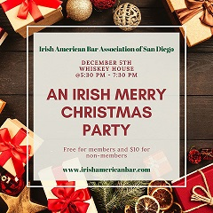 An Irish Merry Christmas Party