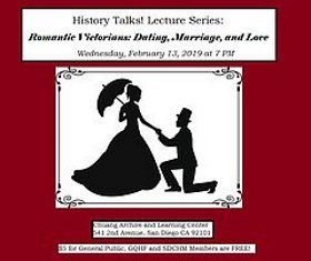 Talk: Romantic Victorians - Dating, Marriage, & Love